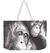 Orangutans Weekender Tote Bag