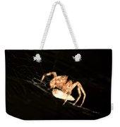 Orb Spider Weekender Tote Bag