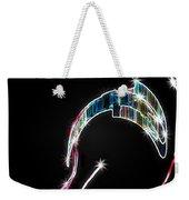 Orca Breaching Weekender Tote Bag