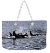 Orcas, The Killer Whales Weekender Tote Bag
