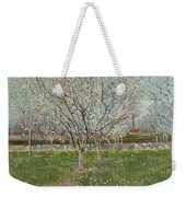 Orchard In Blossom, Plum Trees Weekender Tote Bag