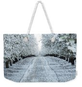 Orchard In White Weekender Tote Bag
