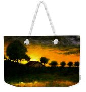 Orchard Sundown Weekender Tote Bag