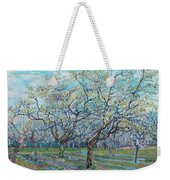 Orchard With Blossoming Plum Trees   Weekender Tote Bag