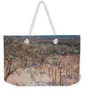 Orchard With Flowering Apple Trees Weekender Tote Bag