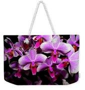 Orchid 12 Weekender Tote Bag