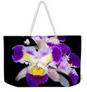 Orchid 13 Weekender Tote Bag