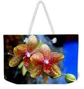 Orchid 17 Weekender Tote Bag