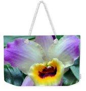 Orchid 34 Weekender Tote Bag