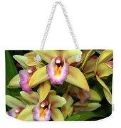 Orchid 7 Weekender Tote Bag