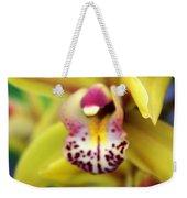 Orchid 9 Weekender Tote Bag