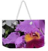 orchid 942 Purple Brassolaeliocattleya  Weekender Tote Bag