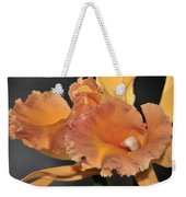 orchid 955 Orange Brassolaeliocattleya Weekender Tote Bag
