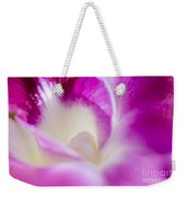 Orchid Abstract Weekender Tote Bag
