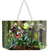 Orchid Basket Weekender Tote Bag