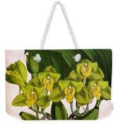 Orchid, Bifrenaria Aurantiaca, 1891 Weekender Tote Bag