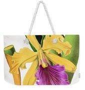 Orchid, Cattleya Dowiana, 1880 Weekender Tote Bag