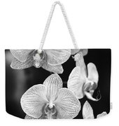 Orchid Cluster Close-up Weekender Tote Bag