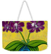 Orchid Delight Weekender Tote Bag