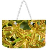Orchid Drama Canvas Weekender Tote Bag