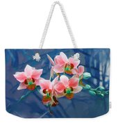 Orchid Flowers 8 Weekender Tote Bag