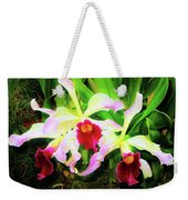 Orchid Flowers Color 1 Weekender Tote Bag