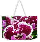 Orchid Hanging In Palms Weekender Tote Bag