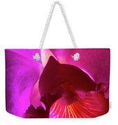 Orchid Landscape Weekender Tote Bag