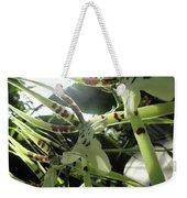 Orchid Lumin Weekender Tote Bag