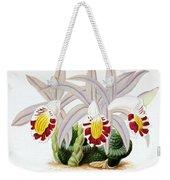 Orchid, Pleione Lagenaria, 1880 Weekender Tote Bag