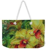 Orchid Series 11 Weekender Tote Bag
