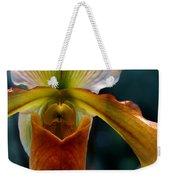 Orchid Slipper Weekender Tote Bag