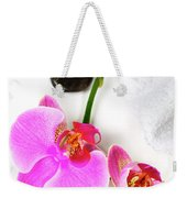 Orchid Spa Composition Weekender Tote Bag