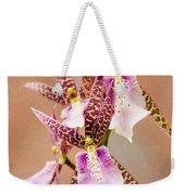Orchid Stars Weekender Tote Bag