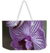 Orchid Strips Weekender Tote Bag