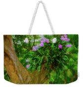 Orchid Tree Weekender Tote Bag