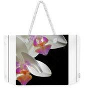Orchid Underneath Poster Weekender Tote Bag