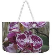 Orchid With Purple Patches Weekender Tote Bag