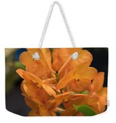 Orchid Yip Sum Wah Orange Weekender Tote Bag