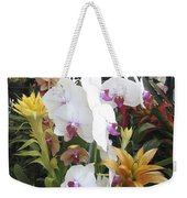 Orchids And Iron Weekender Tote Bag
