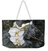 Orchids And Water Weekender Tote Bag