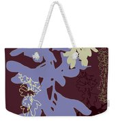 Orchids Cocoa-lavender  Weekender Tote Bag