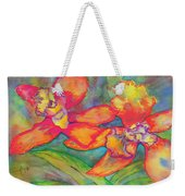 Orchids In Paradise Weekender Tote Bag