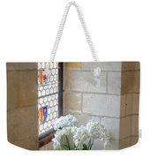 Orchids In The Chateau Weekender Tote Bag