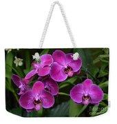 Orchids In Vivid Pink  Weekender Tote Bag