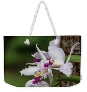 Orchids On A Tree Weekender Tote Bag