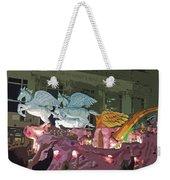 Order Of Polka Dots - Side View -- Cutout Weekender Tote Bag