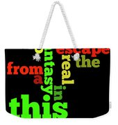 Order The Lyrics Game. Queen. Bohemian Rapsody. Game For Music Lovers And Fans Weekender Tote Bag