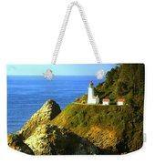 Oregan Lighthouse Weekender Tote Bag