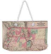 Oregon And Washington Territory Weekender Tote Bag